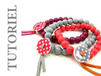 tutoriel créer bracelet cabochon