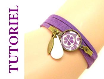 tutoriel bracelet cabochon