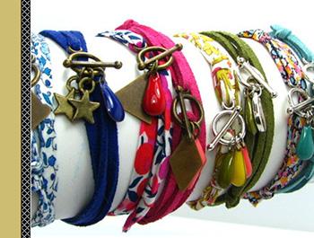 tutoriel création bracelet coulissant