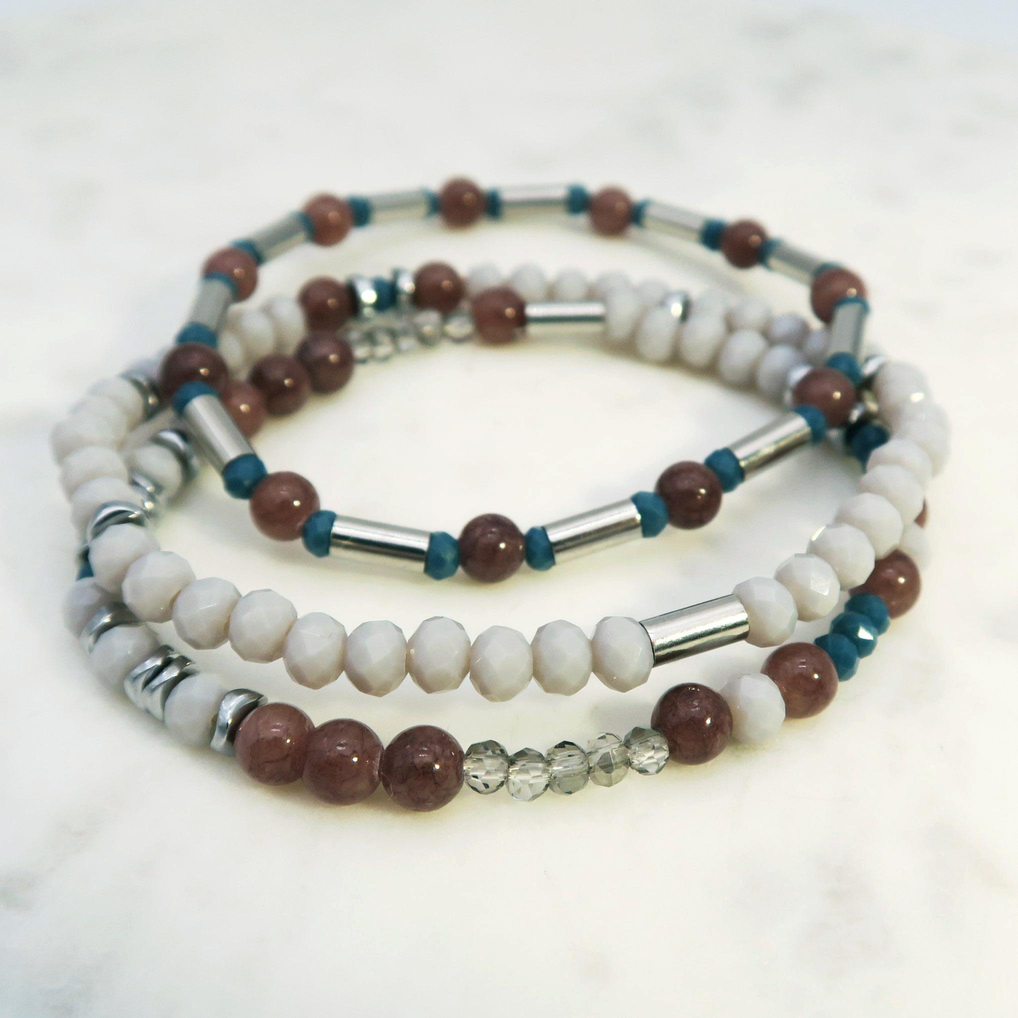 Idées bracelets pierres naturelles