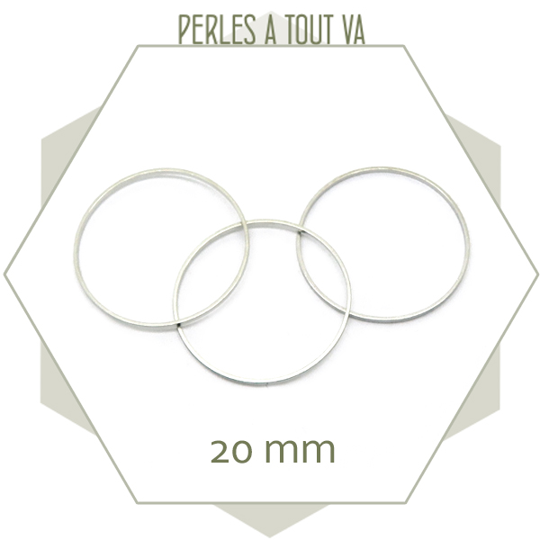 Vente anneaux fermés pour bijoux