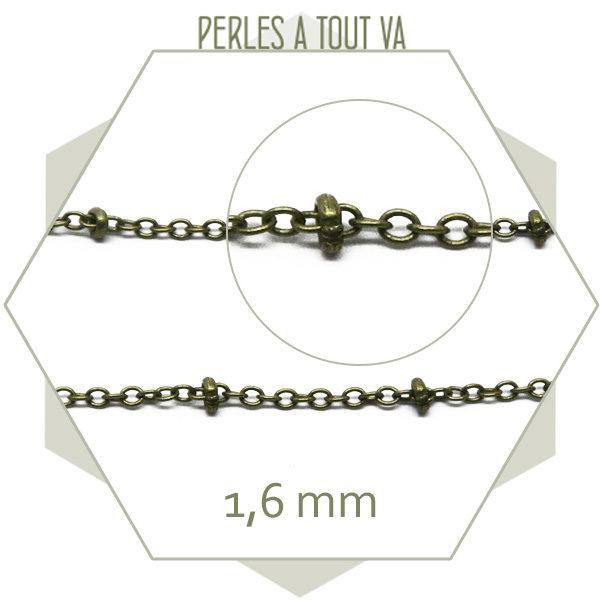 chaine création bijoux