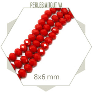 achat perles donut rouge