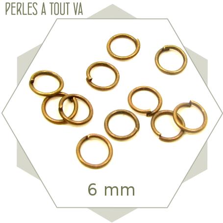 Vente anneaux de jonction bronze