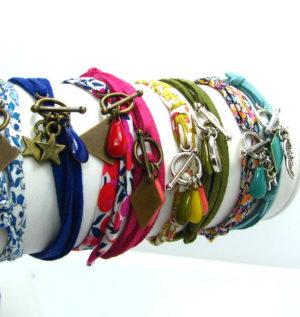 créer des bracelets ajustables