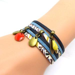 idée création bracelet liberty