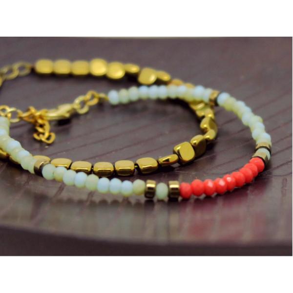 idée bracelet perles donut