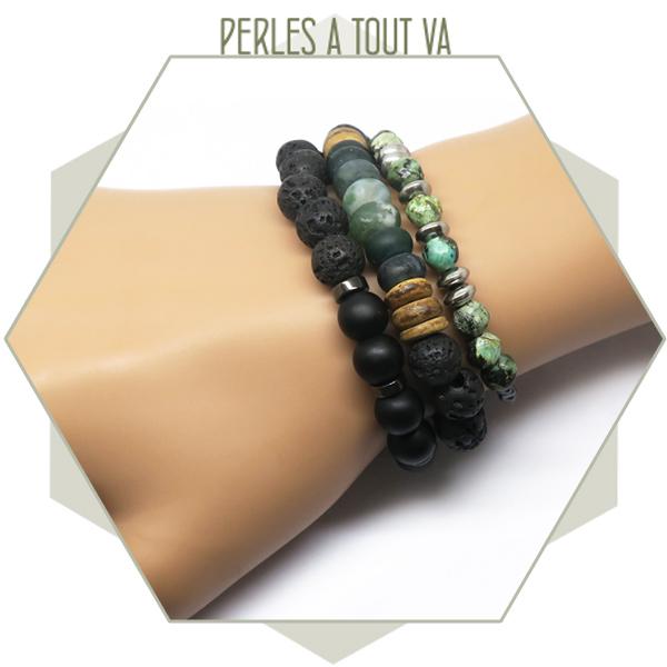 idée bracelet pierre naturelle
