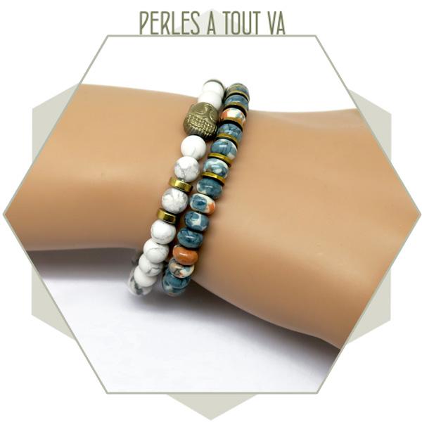idée création bracelet perles