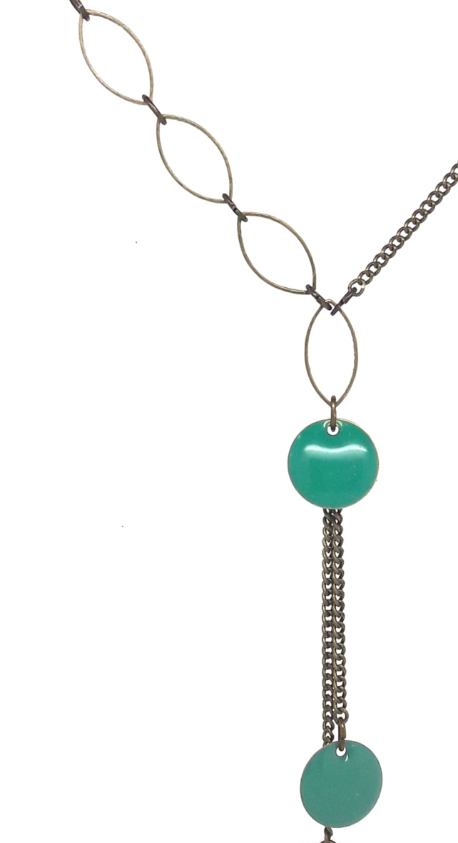 création collier chaine