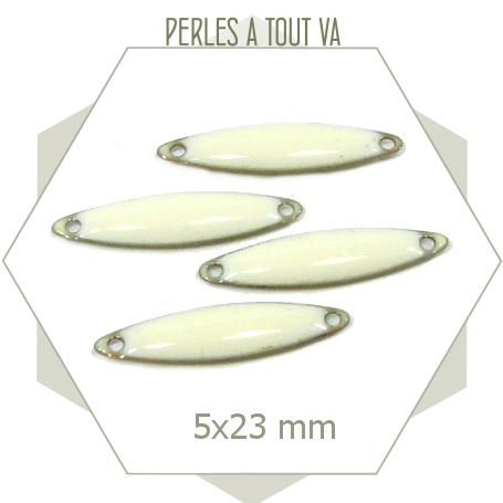fournisseur sequins émaillés blanc