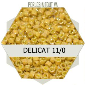 Perles Miyuki délicas Duracoat Opq  5g, perles de rocaille