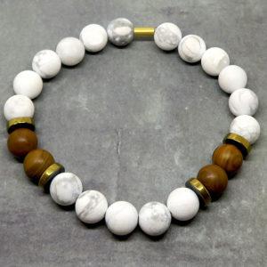 Kit bracelets de perles en pierres naturelles, tutoriel bracelet