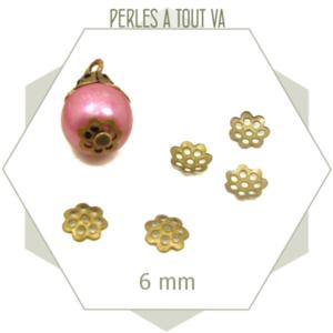 100 chapeaux de perles bronze