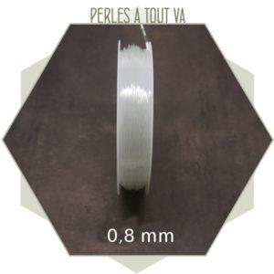 Fil élastique 0.8mm
