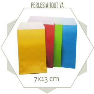 Mix 40 pochettes cadeaux couleurs vives