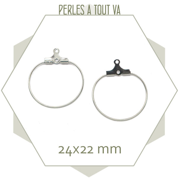 petites créoles pour bijoux