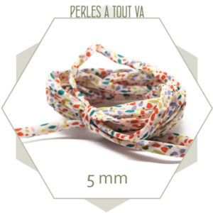 cordon liberty multicolore