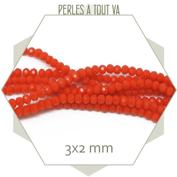 perles orange en gros