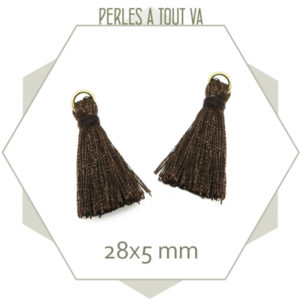grossiste pompon marron