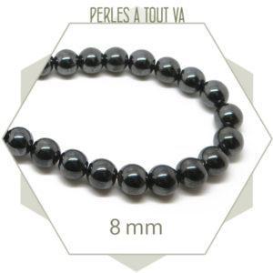 perles hématite magnétique