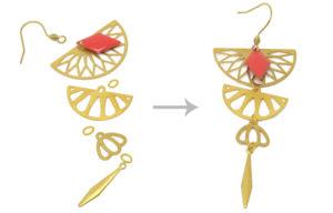 matériel création boucles d'oreilles