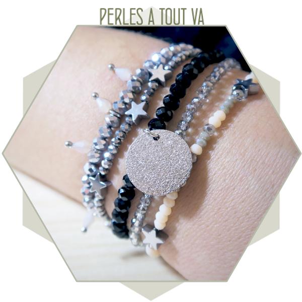 mix bracelets perles