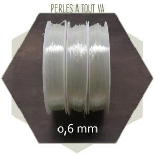 fil élastique pour bijou