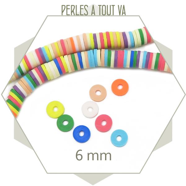 perles colorés pour bijoux
