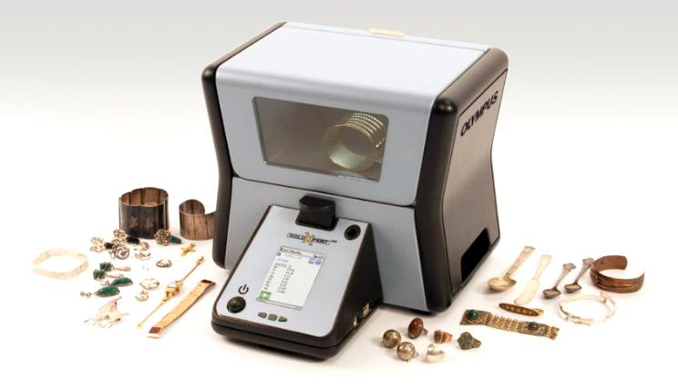 Analyse XRF matériaux bijoux
