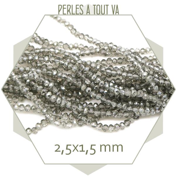 petite perle grise scintillante