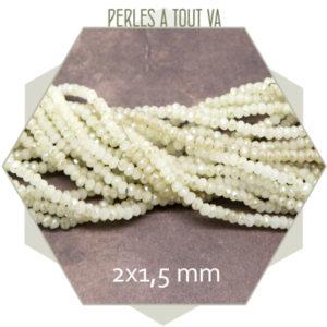 perle donut blanc