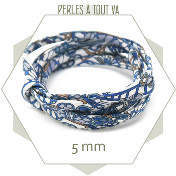 cordon tissus pour creation bijoux