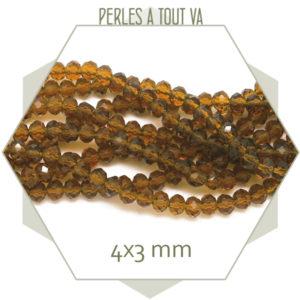 Rang de perles verre donut