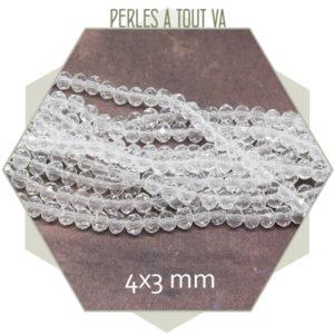 grossiste perles verre transparent