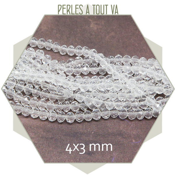 grossiste perles verre transparent