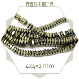 perles intercalaires en hématite