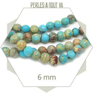 Perles en pierre regalite
