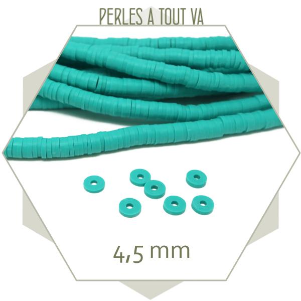 Perles Heishi turquoise