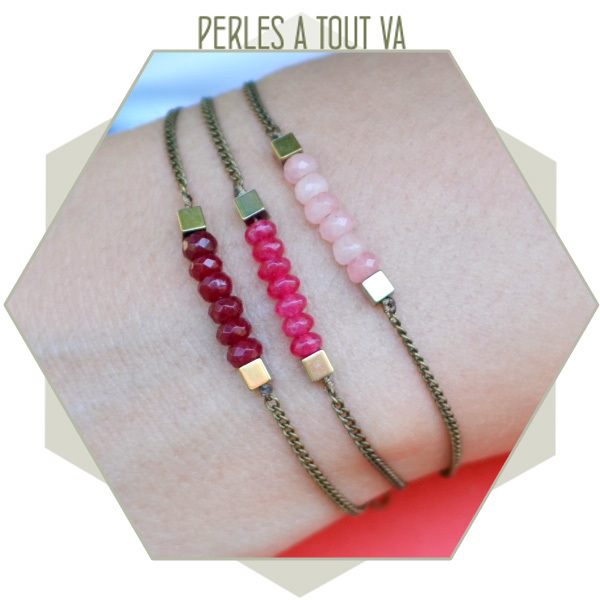 création bracelet DIY jade
