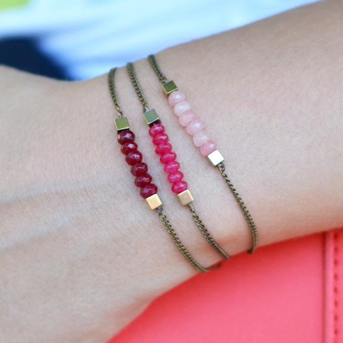 bracelet DIY perle jade