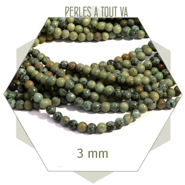 Vente rang perles turquoise africaine