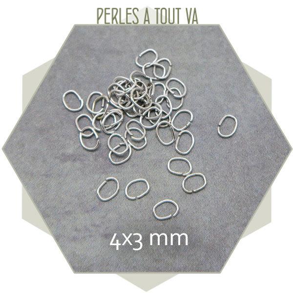 anneau de jonction ovale acier