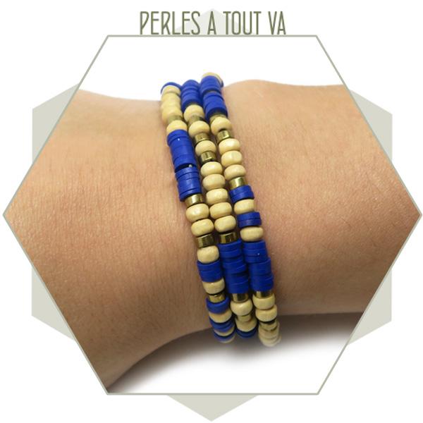 bracelet heishi DIY