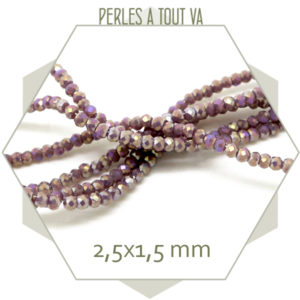 Perles brillantes pour bijoux
