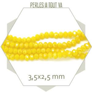 Perles facette pour bijoux