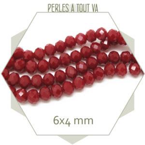 boutique perles donut rouge