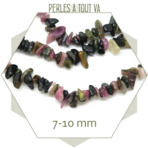Perles chips pierre naturelle
