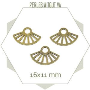 connecteur eventail bronze