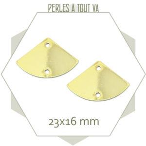 Achat connecteur bijoux doré